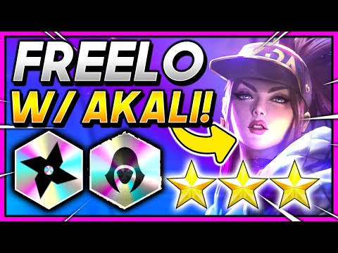 *FREELO NINSIN* ⭐⭐⭐ AKALI! - TFT 10.21 Teamfight Tactics FATES Guide BEST RANKED Comps SET 4 Meta