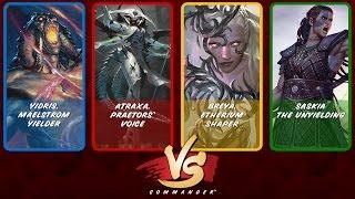 Commander VS S5E6: Yidris vs Atraxa vs Breya vs Saskia