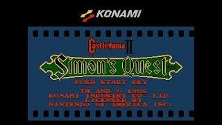 Castlevania II: Simon's Quest NES Longplay