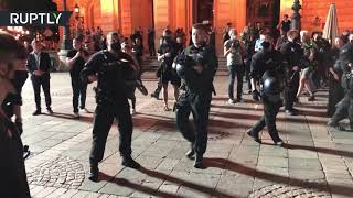 German unrest | 1am curfew enforced in Frankfurt as police clear out protesters