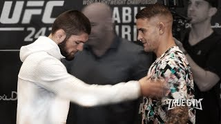Битва взглядов Хабиб против Порье / Тухугов, Тайсумов, Махачев, Абдурахимов UFC 242