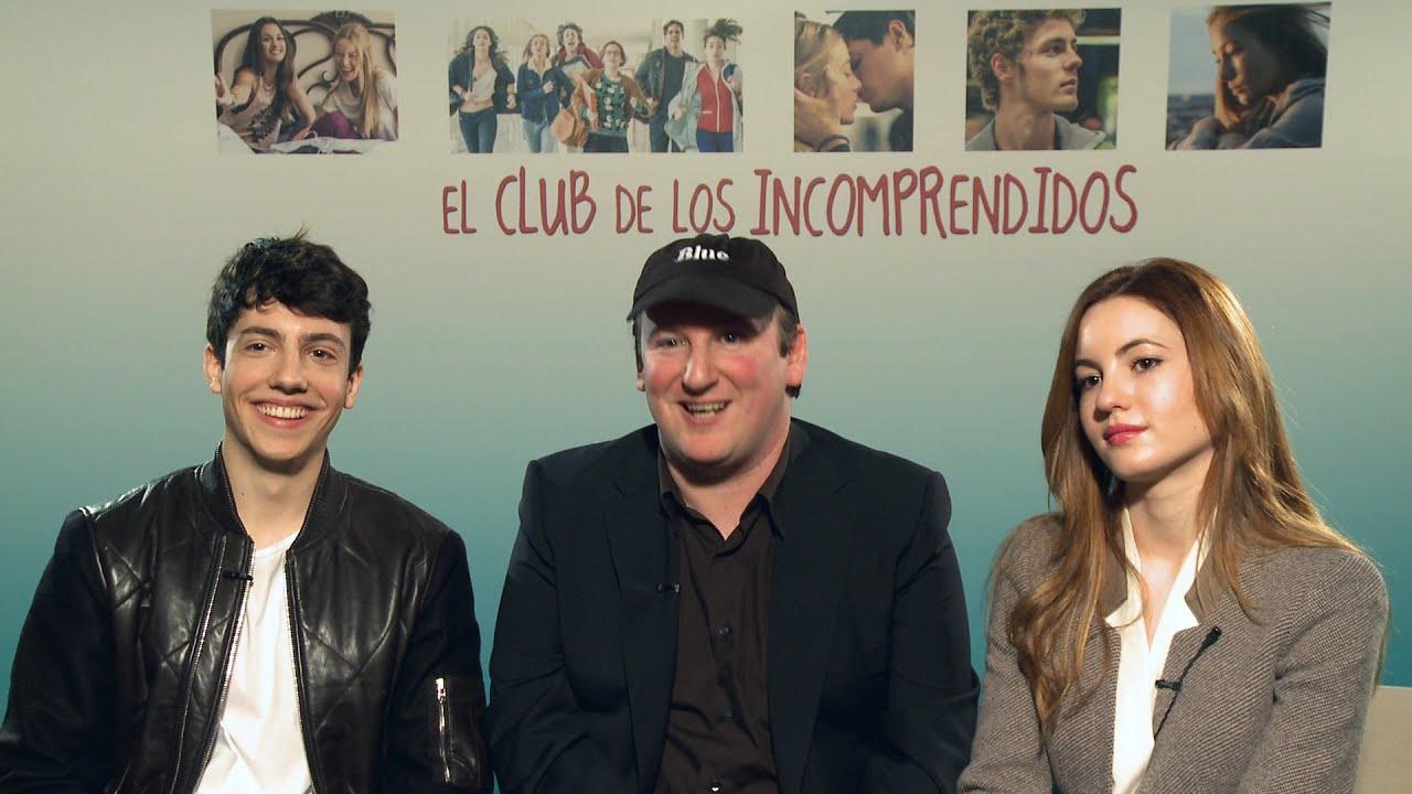 Película El Club De La Incomprendidos Entrevista A Jorge Clemente Blue Jeans E Ivana Baquero Youtube