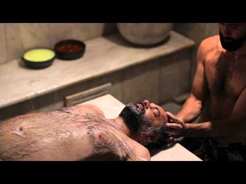 Men enjoy bathing at ancient Damascus hammam  2014  Doovi