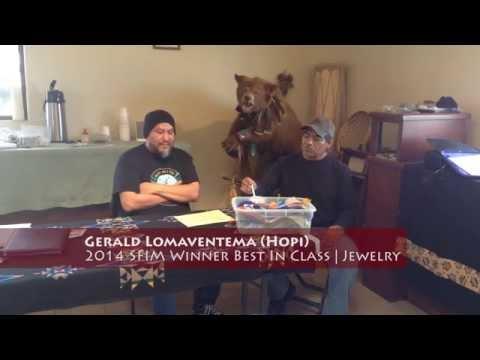 Interview with 2014 Santa Fe Indian Market Winner Gerald Lomaventema (Hopi)