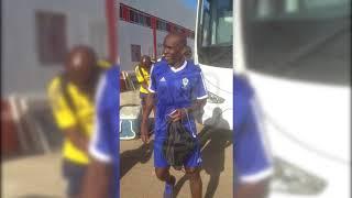 L'arrivée de la sélection gabonaise au complexe Benjelloun