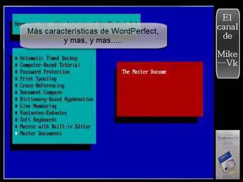 PC-MsDOS - | Demo WordPerfect 5.1 | - 1988. WordPerfect Corporation.