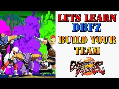 Lets learn DBFZ! - What to look for in building your team