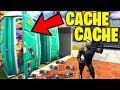 LE CHERCHEUR M'A PRANK !! (Fortnite Cache Cache)