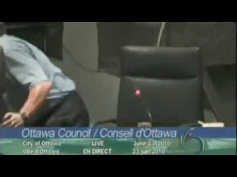 Earthquake hits Ottawa City Council
