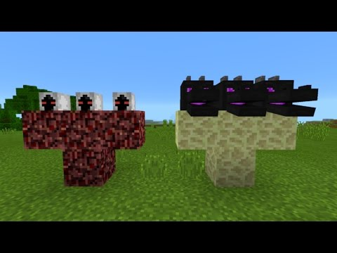 What Happens When You Spawn the Hydra Dragon Boss and Entity 303 in Minecraft Pocket Edition