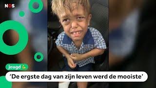 Gepeste Quaden (9) krijgt steun en heel veel geld na viral video