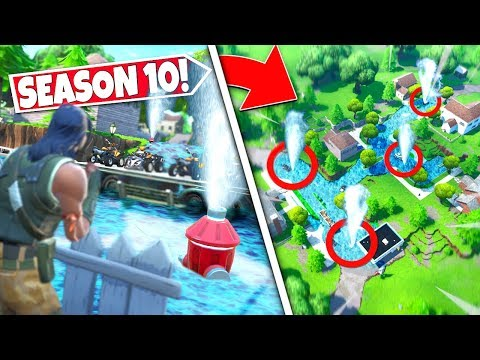 *NEW* UNEXPECTED FLOOD *FILLING* SALTY SPRINGS AS EPIC LEAKS MAJOR LOCATION CHANGE! SEASON 10 UPDATE