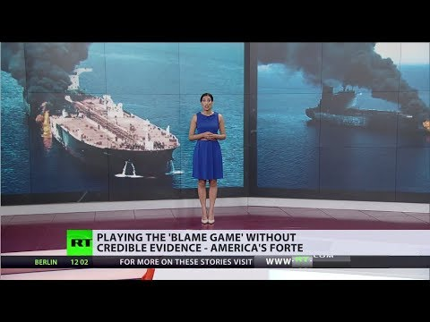 US and Iran step up the blame game over suspected attack on oil tankers in Gulf of Oman