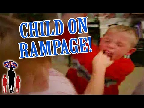 Supernanny   Child Goes On Rampage When Mom Tells Him Off