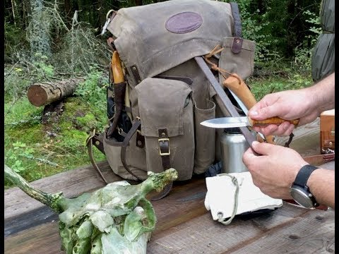 Bushcraft Pack Gear Loadout & Walk In The Woods