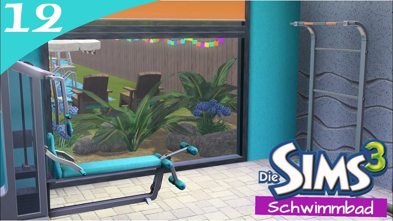 Hausbau Reihe 6 12: Schwimmbad [Letu0027s Build Sims 3 Haus]