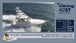 Viking Yachts 42 ST   Jefferson Beach Yacht Sales