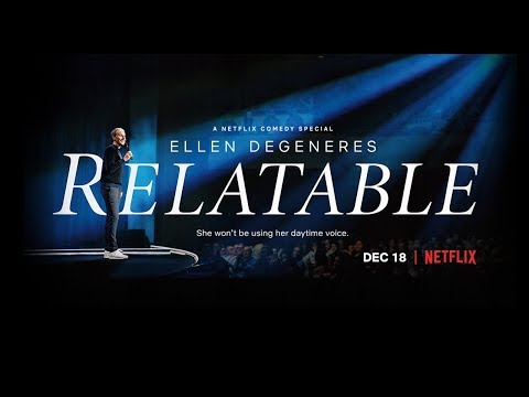 Lori - Ellen Releases Trailer For Her Netflix Stand-Up Special