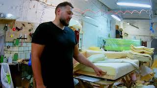 видео Услуги по перетяжке мебели на дому