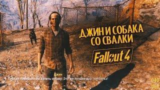 Выживание в Fallout 4 Джин и собака со свалки