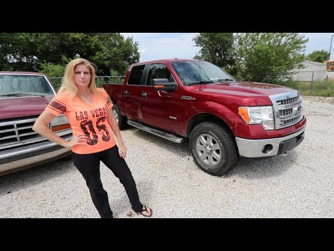 Thumbnail: WE FOUND MY MOM'S STOLEN TRUCK! (look what was inside...)