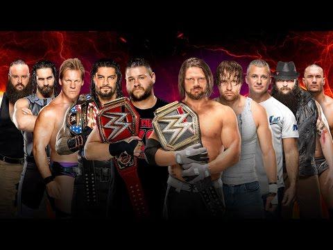 WWE 2K17 - Team Smackdown LIVE vs Team RAW: Traditional 3 on 3 Survivor Series Match