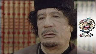 Muammar Gaddafi Interviewed Just Before Libyan Revolution