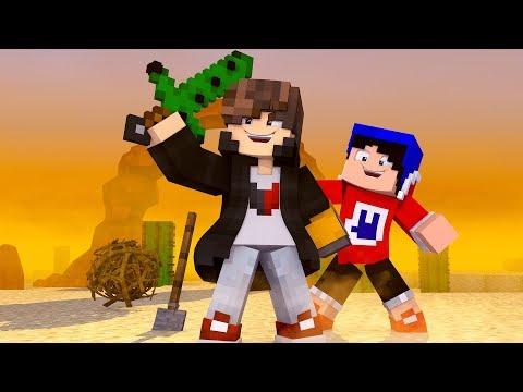 Minecraft: ANIMALIA - SUPER ESPADA DE CACTUS - ‹ JUAUM › #02