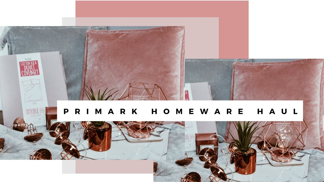 Primark spring homeware decor haul april 2017 sarah for Homewares decorative items