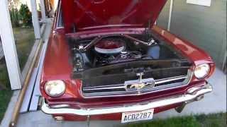 1965 Mustang 200ci Inline Six w/ FlowMaster Series 40 Muffler