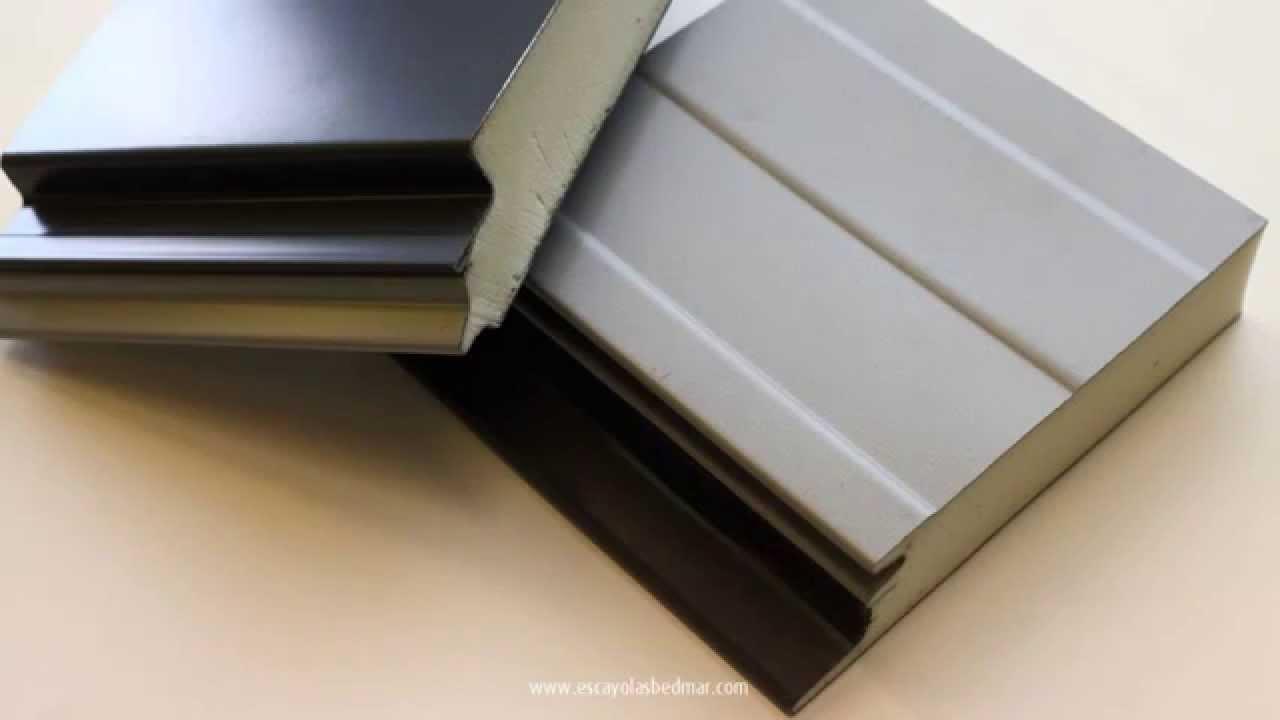 Paneles aislantes de cubiertas y fachadas youtube for Paneles aislantes para fachadas