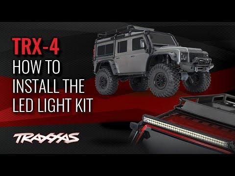 How to Install the LED Light Kit | TRX-4 Land Rover Defender