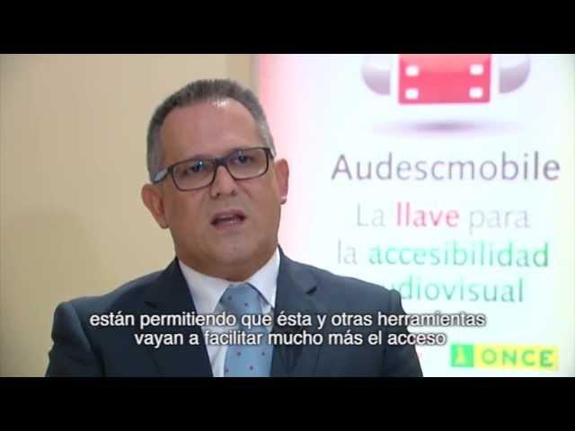 Aplicación móvil AudescMobile - Subtítulos Español | Apps Accesibles | Fundación Vodafone España