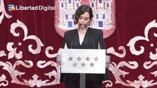 """Díaz Ayuso reivindica la Constitución como """"la última barrera contra los totalitarios"""""""
