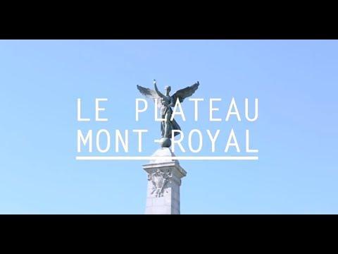 Visite du plateau Mont-Royal