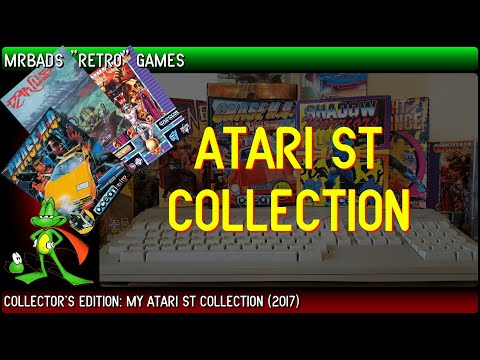 My Atari ST  Computer & Games Collection