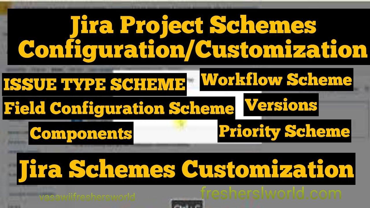 Jira Tutorial 2018 - jira Project Configuration jira schemes |Preyasi Telugu Vlogs