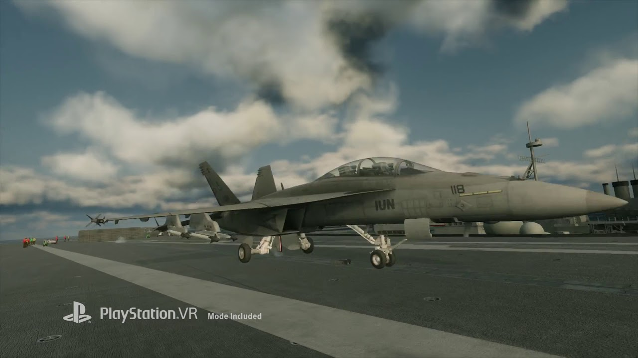 Ace Combat 7: Skies Unknown - PGW 2017 - YouTube