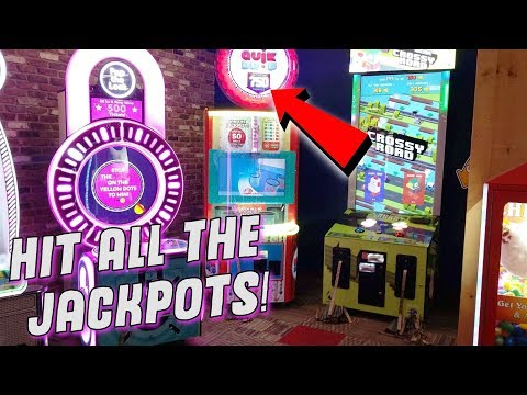Did I Really Get An Arcade Jackpot On All of Them?! With GiveAway! ArcadeJackpotPro