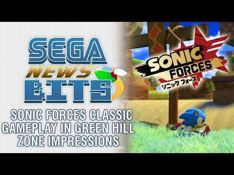 Sonic Forces Classic Gameplay in Green Hill Zone Impressions