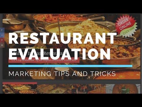 Mahan Restaurant Evaluation