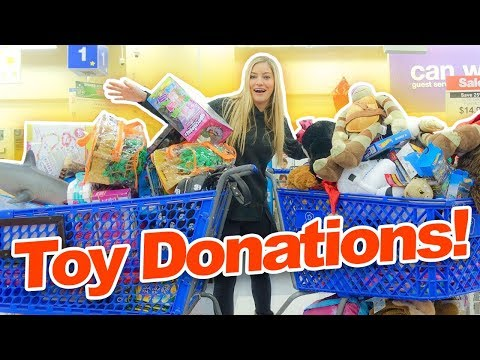Donating Lots of Toys!