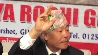 Gurkha Think-tank Chandra Laksamba on Gurkha Issues