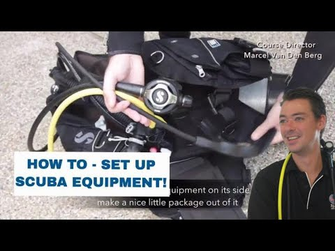 How To Assemble Dive Equipment • Set Up Like A Pro! - Scuba Diving Tips