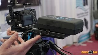 indipro tools external camera battery and power solutions nab2016