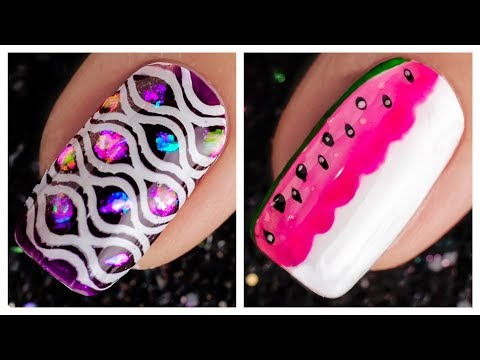 New Nail Art Design 2019 ❤️💅 Compilation For Beginners | Simple Nails Art Ideas Compilation #71 thumbnail