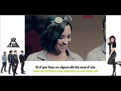 Fall Out Boy - Irresistible ft. Demi Lovato (Sub. Español y Lyrics)