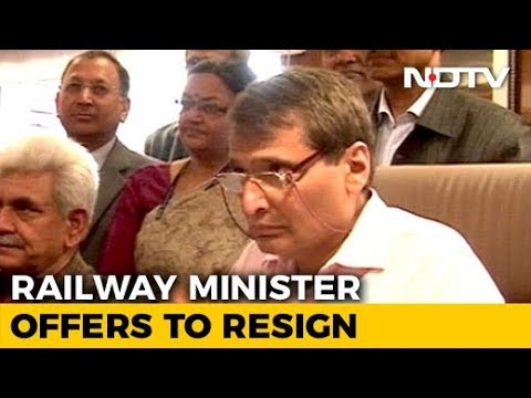 Railways Minister Suresh Prabhu Meets PM, Suggests He's Offered To Quit