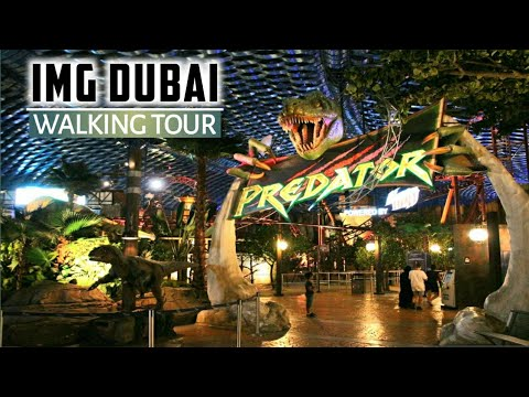 Fun and Adventure at IMG World Dubai!! Part 1