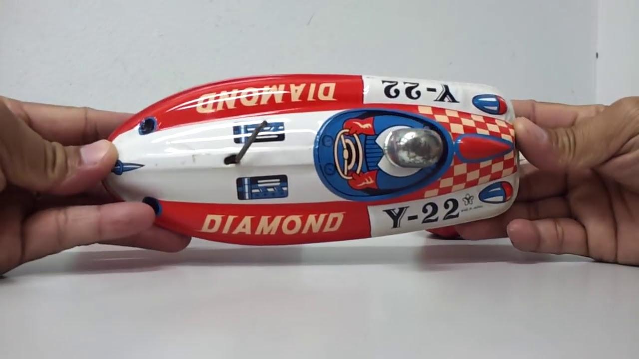 Submarine Wind Tin Toy